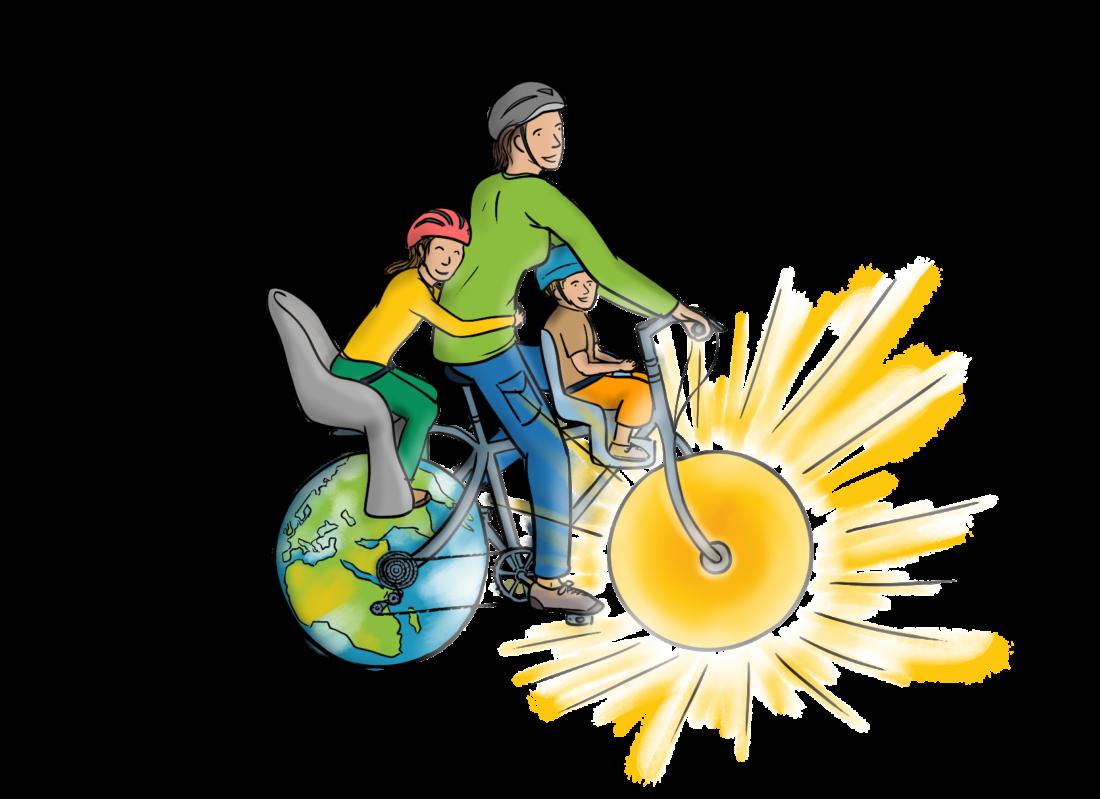 vélo terre soleil